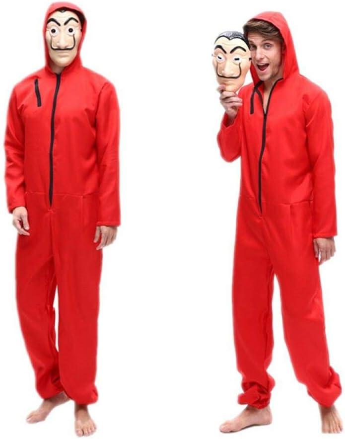 La Casa De Papel Costume Money Heist Costume SRGbros Halloween Costume