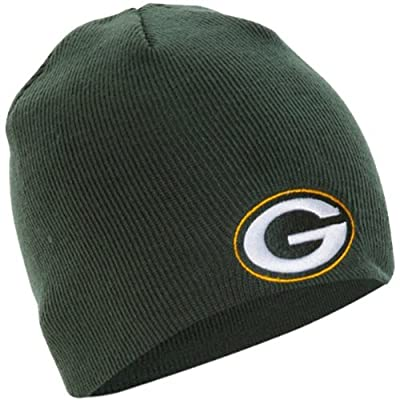Green Bay Packers Official NFL One Size Knit Beanie Hat