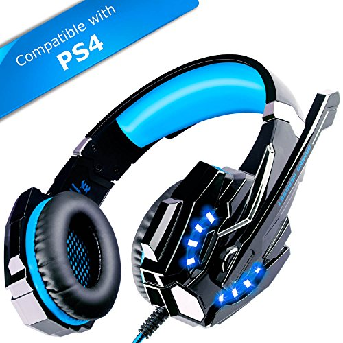ECOOPRO-Stereo-Gaming-Headset-with-Microphone-35mm-Over-Ear-Headphones-LED-Lights-In-line-Volume-Control-for-PS4-PC-MAC-Mobiles