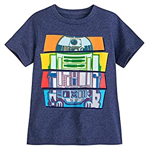 Star Wars R2-D2 T-Shirt for Boys Multi