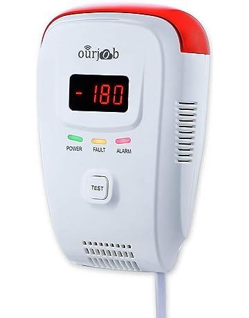 Detector de Gas, Alarma de Gas LPG/natural/ciudad, Enchufar en Sensor