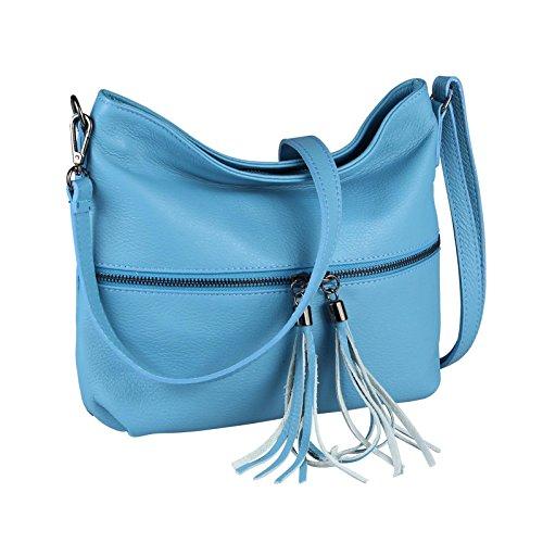Only Bolso OBC Gris 34x27x13 Hombro Cm Azul Mujer 34x27x13 Couture Beautiful BxHxT ca cm para Grau al HdAgqAr8