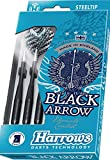 24g Ringed Harrows Black Arrow Darts Set
