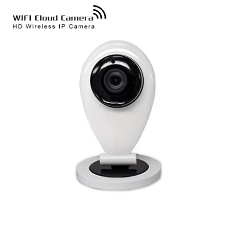 Shengyaohul Full HD 720P Cámaras De Seguridad Ip Doméstica, Indoor White Cam Monitoring Cámara Ip With ...
