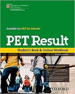 PET Result: Student's Book & Online Workbook: Jenny Quintana