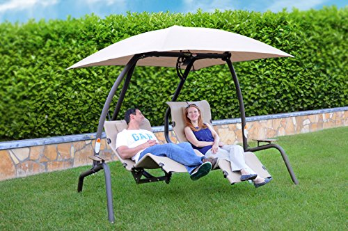 Swing Dual Recliner (Sunset Swings 422-L Dual Recliner - Newest 2016 Model)