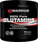 Glutamine Powder, 500g, 1 Pound 1.12 Ounces, Unflavored 100% Pure Pharmaceutical-Grade L-Glutamine Amino Review