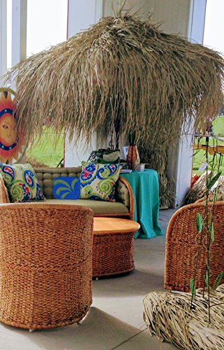 Tiki Thatch Umbrella Cover - 9 ft. - Thatched Grass