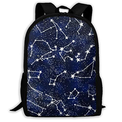 Glow In The Dark Midnight School Backpack Knapsack Cool Daypack Children Sports Backpacks For Teens