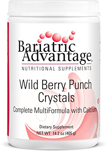 Bariatric Advantage - Multi-Formula Crystals Tub - Wild Berry, 45 Servings