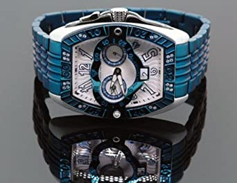 Aqua Master Armbanduhr Herren - Leder - Farbe: Schwarz