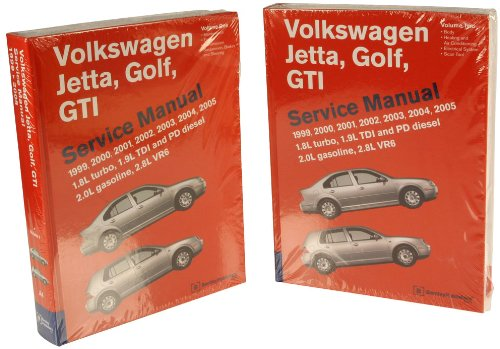 Bentley W0133-1610743-BNT Paper Repair Manual VW Jetta/Golf/GTI (A4)