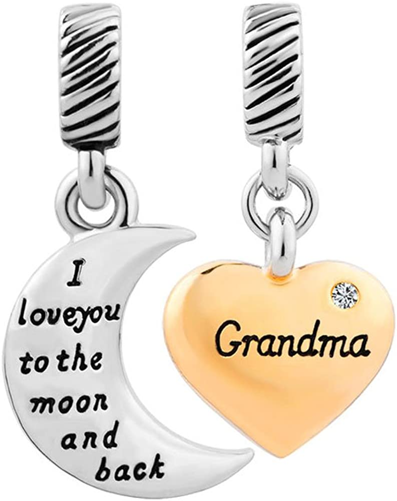 ShinyJewelry Grandma Charm...