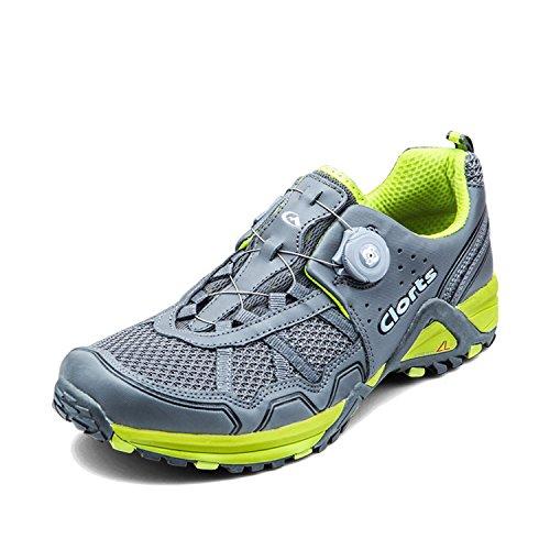 合図クライアントデッキメンズランニングシューズ Boa スポーツ カジュアル 通勤 通学 日常着用 靴 軽量 通気 (クローツ)Clorts