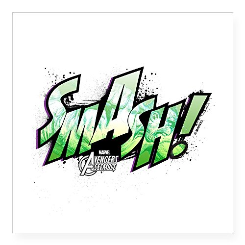 CafePress Smash Square Sticker Bumper