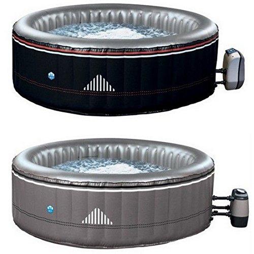Mini piscina jacuzzi 140 idrogetti hinchable diámetro 204 cm 6 ...