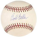 : Bob Feller Cleveland Indians Autographed Baseball - COA - JSA Certified - Autographed Baseballs