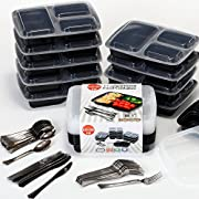 Amazon Lightning Deal 94% claimed: Readyfoody Meal Prep Containers 10 Sets