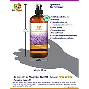 Pet Diesel Premium Pet Deodorizer By Pet Cologne | Pet Perfume | Organic Deodorant With Enzyme & Calming Lavender, Marjoram & Chamomile | Odor Elimination & Bacteria Removal | For Dogs, Cats & More