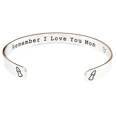 O.RIYA Remember I Love You Mom Mother's Day Gift