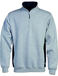 100209 Short Zip Sweatshirt