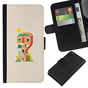 KLONGSHOP // Tirón de la caja Cartera de cuero con ranuras para tarjetas - Mario Game House - Sony Xperia Z3 D6603 //