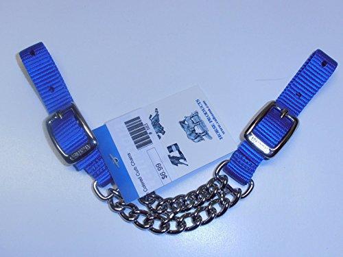 (Nylon Valhoma colored Curb Chains (Blue))