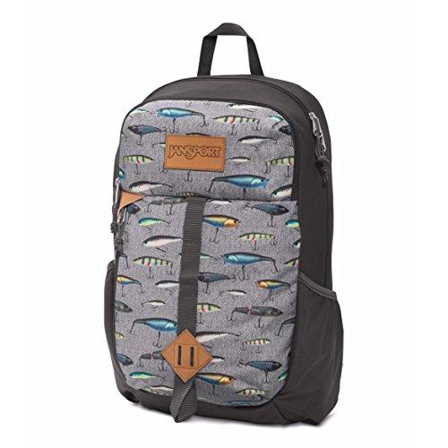 (JanSport Unisex Hawk Ridge Multi Fishing Lures Backpack)