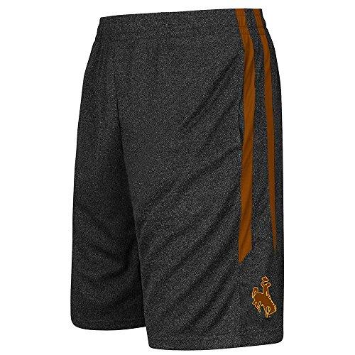 Youth NCAA Wyoming Cowboys Basketball Shorts (Team Color) - L