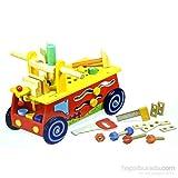 Serra Baby Educational Wood Repair Kit - Trolley Atolyem Trailer