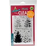 Hero Arts Christmas Tree Clear Stamp and Die Combo