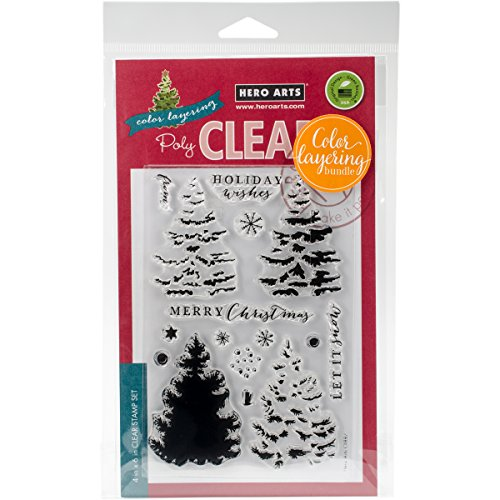 Hero Arts Christmas Tree Clear Stamp and Die Combo by Hero Arts