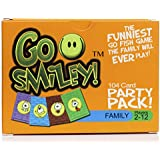 Party Pack: Go Fish w/ Funny Faces! Kid Card Game for the Family. Adults & Teens Will Join in on the Party, Playing With The Toddlers. Classic Toddler Games with a Twist. Cards Set for Preschool Kids
