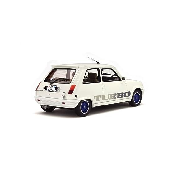 Otto 1/18 Scale Resin - OT691 - Renault 5 Gordini Turbo - White: Ottomobile: Amazon.es: Juguetes y juegos