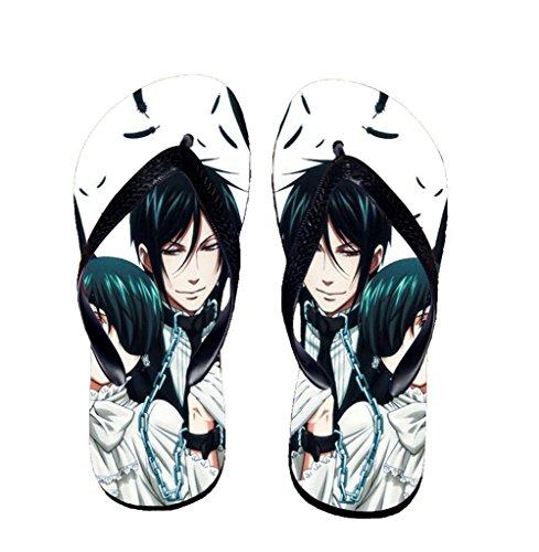 Bromeo Black Butler Anime Unisex Flip Flops Chanclas 59