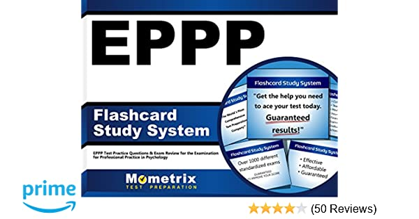EPPP Flashcard Study System: EPPP Test Practice Questions