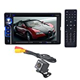 "Bolayu Double 2 Din 6.2"" In Dash Stereo Car DVD CD Player Bluetooth Radio"