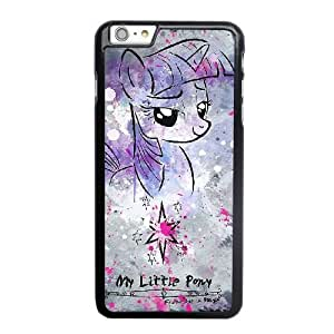Wunatin Hard Case ,iPhone 6 6S 4.7 inch Cell Phone Case Black My Little Pony Princess Of Magic [with Free Tempered Glass Screen Protector]5691265303057