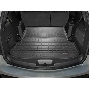this item 2011 2015 ford explorer black weathertech cargo liner behind second row seating