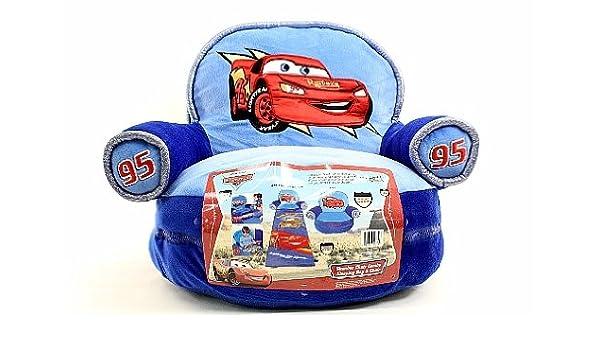Disney Pixar plata coche azul Slumber Saco de dormir Combo Silla Silla: Amazon.es: Deportes y aire libre
