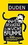 Von Arschgeige bis Wuchtbrumme: Die 333 lustigsten Schimpfwörter
