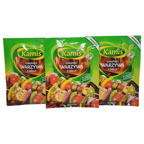 Kamis Grill Crispy Vegetables 20g (Pack of 3)