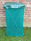 REDUCED Portable 200 Ltr Green Garden Composter Bin For Recycling Compost Bin Waste