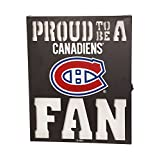 Team Sports America Montreal Canadiens LED Light Up Metal Wall Art