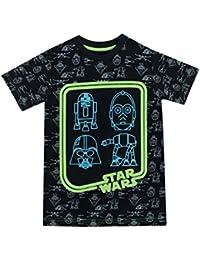 Boys Star Wars Glow In The Dark T-Shirt