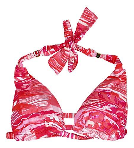 Ralph Lauren Calypso Halter Tie Straps Bikini Top (Coral, ()