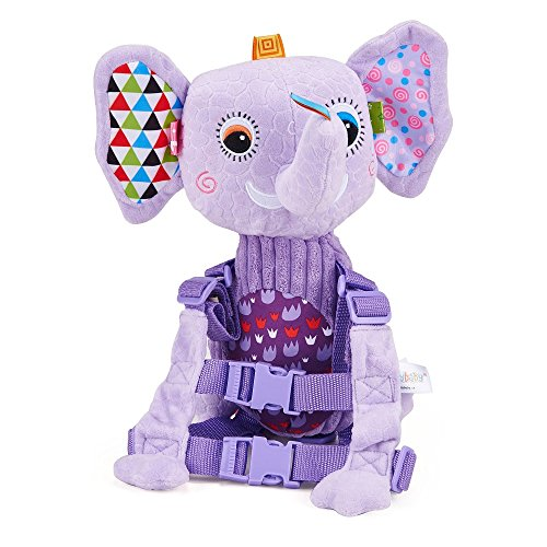 Mufly Toddler Safety Harness Backpack Children's Walking Leash Strap and Name Label -Multicolor (purple) by Mufly (Image #9)