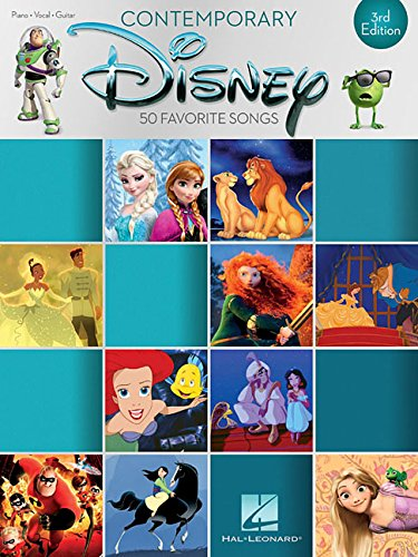 (Contemporary Disney: 50 Favorite Songs (Piano-vocal-guitar))