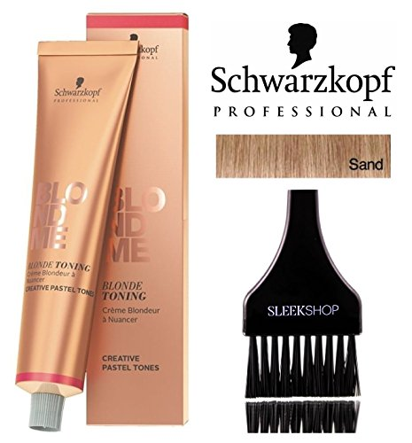 Schwarzkopf Professional Blond Me Blonde Toning (NEW VERSION - 2.1 oz); includes