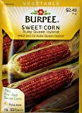 Burpee 63561 Corn, Red Ruby Queen Hybrid Seed Packet